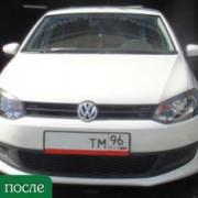 Покраска автомобиля Volkswagen Polo -после